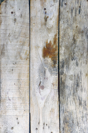 Old wooden planks arranged vertically. Stock Photo