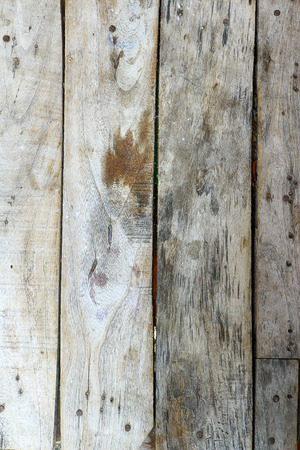 boardshorts: Old wooden planks arranged vertically. Stock Photo