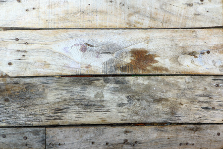 Old wooden planks pale arranged horizontally.