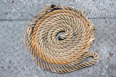 winder: Mooring rope winder in order.