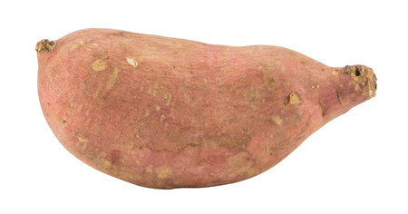 russet potato: The sweet Potato on a white background.clipping path. Stock Photo