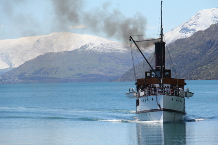 Steamship cruises in New Zealand Editorial