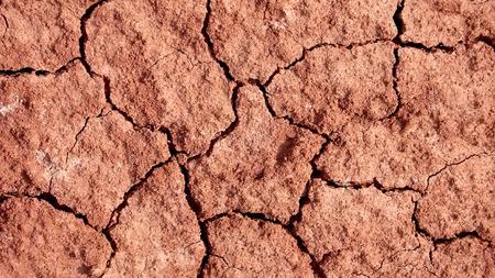 A dry red desert cracking beneath my feet
