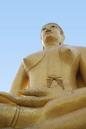 seated: Seated Buddha, Wat Phikunthong, Singburi, Thailand