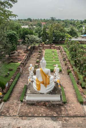 phra nakhon si ayutthaya: Wat Yai Chai Mongkhon Temple in Phra Nakhon Si Ayutthaya, Thailand