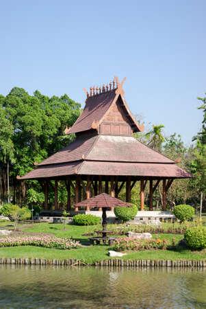 style: Gazebo, Northern Thailand Style
