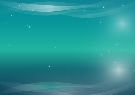 backgroud: Business blue turquoise stars background