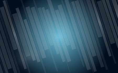 background designs: Black and blue abstract rectangle background Illustration