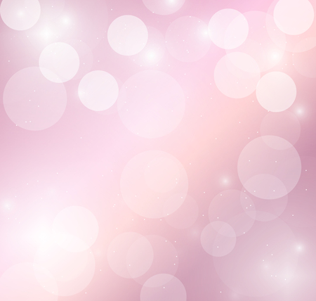 Pink pastel with bokeh and glowing light background