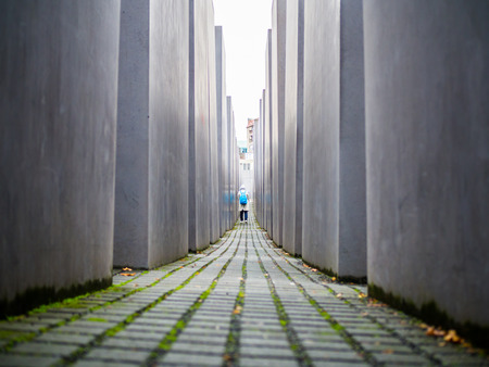 Memorial to the Murdered Jews at Berlin Editorial