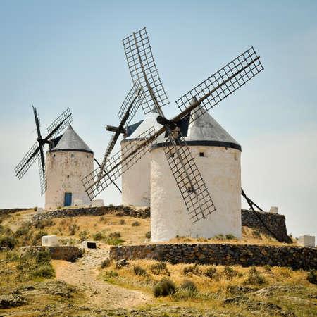 Windmills of Consuegra, Castile-La Mancha, Spain photo