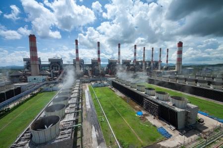 thermische centrale in thailand Stockfoto