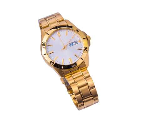 Wrist watch isolated photo