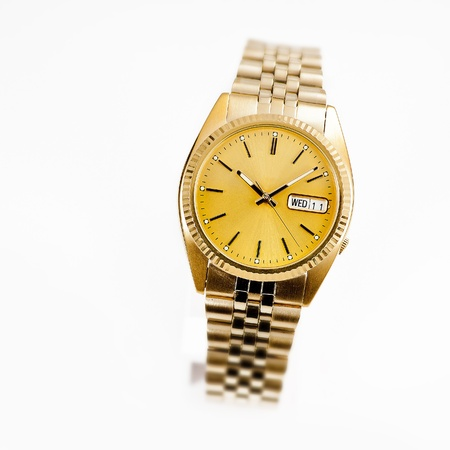Wrist watch isolated
