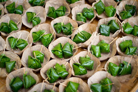 Miang Kham is a tasty snack often sold as Thailand street food