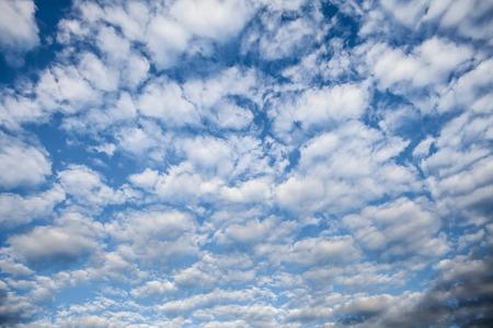 floccus: Cirrocumulus Cloud Stock Photo