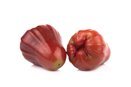 bell shaped: Rose apples or chomphu isolated on white background