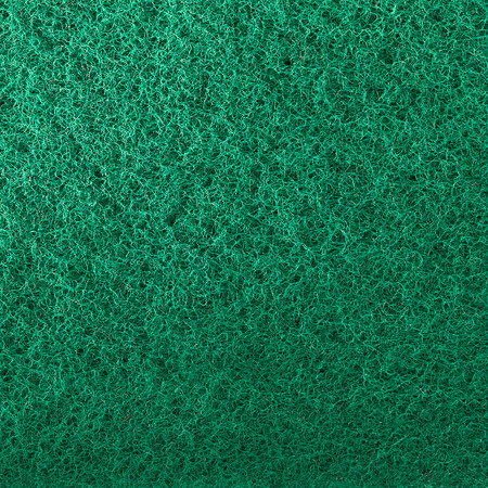 white isolate: Close up scouring pad using as background