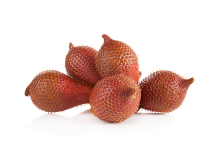 salak: salak isolated on a white background