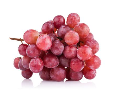 druiven geïsoleerd op een witte achtergrond