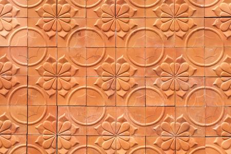 terracotta: terracotta background Stock Photo