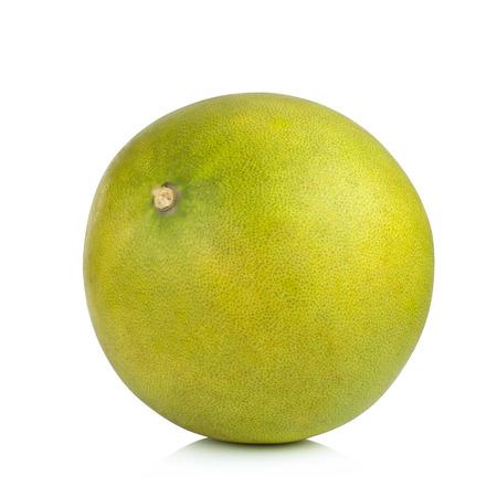 freshest: Pomelo fruit on white background