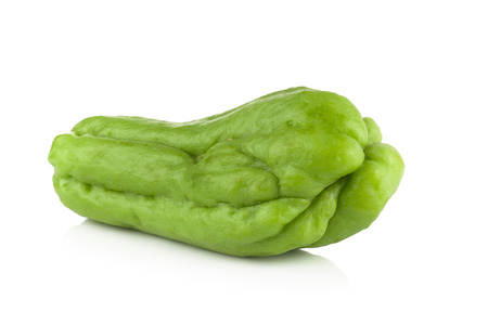 chayote: Chayote on white background