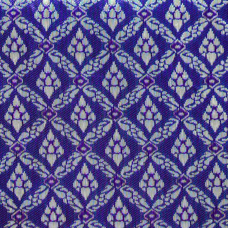batik: Thai motif bleu de soie, Tha�lande style textile
