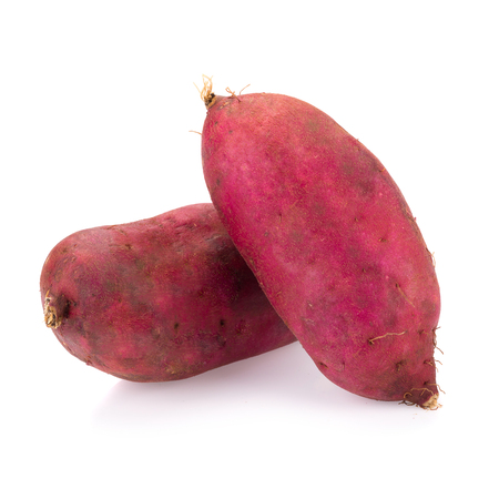 jhy: sweet potato on the white background.