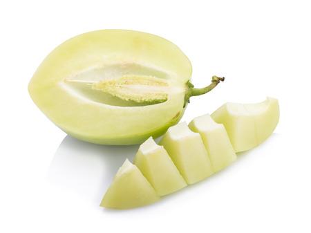 pepino: pepino melon on white background.