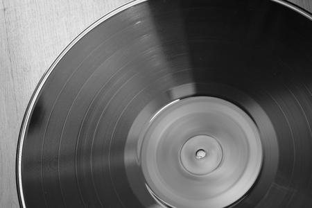 disque vinyle close-up. Banque d'images