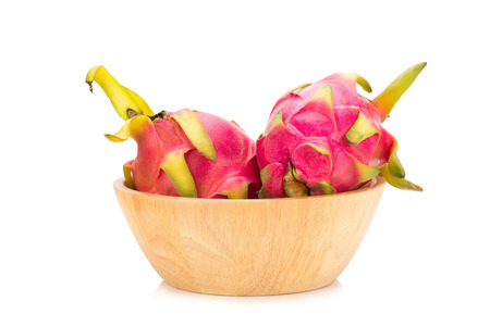 priceless: Dragon fruit isolated on white background.