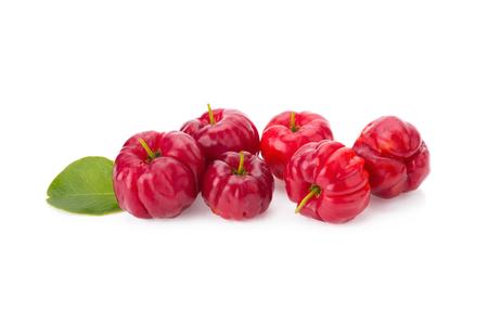 laxative: Barbados cherry (Malpighia glabra L.). Stock Photo