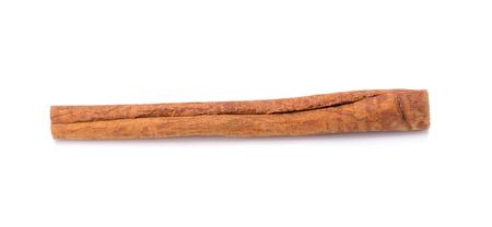 white backing: Cinnamon sticks isolated on white background. Stock Photo