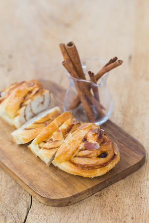 buttery: Twisted buns stuffed with a buttery cinnamon and brown sugar cream.