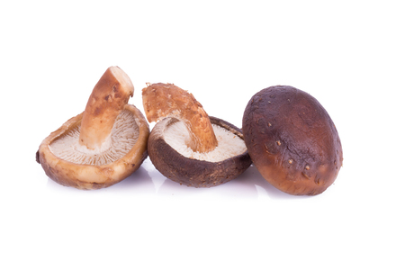 portobello: portobello mushrooms isolated on white background