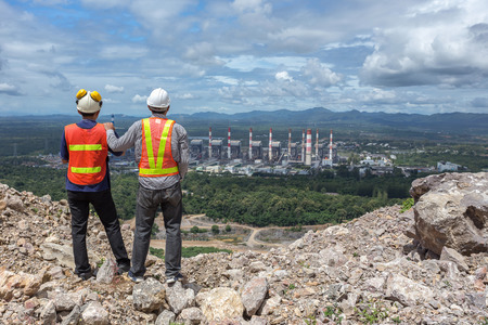 Engineers are investigating the safety of coal power plant in Lampang Thailand.
