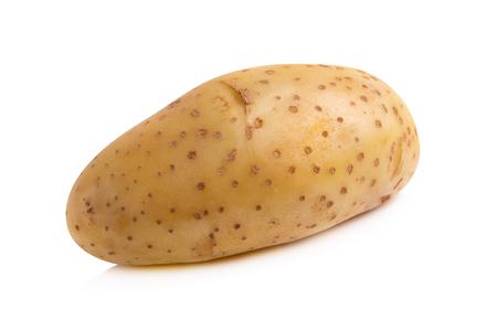 Fresh potatoes isolated on a white background. Reklamní fotografie