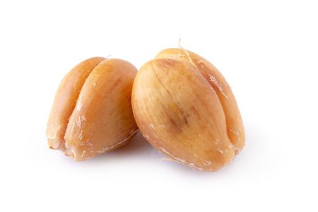 Salak snake fruit isolated on white background 免版税图像