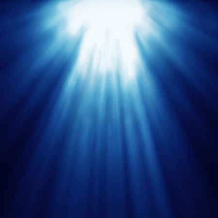 abstract light god blue speed line zoom Stock Photo - 20354070