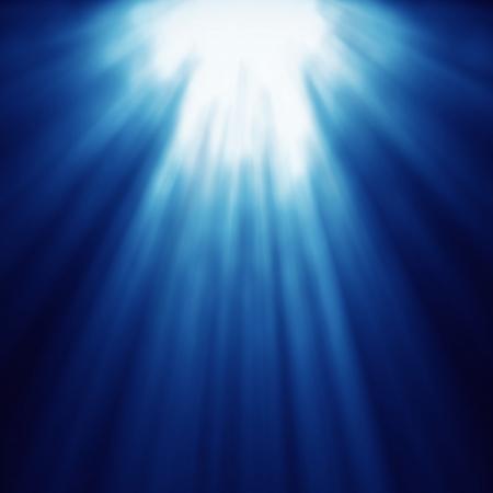 light zoom: abstract light god blue speed line zoom