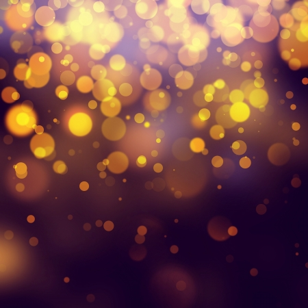 purple and gold: gold Festive Christmas background,bokeh abstract