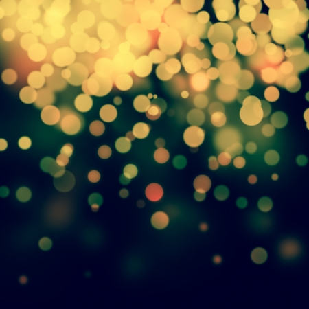 Bokeh abstract festive Christmas background