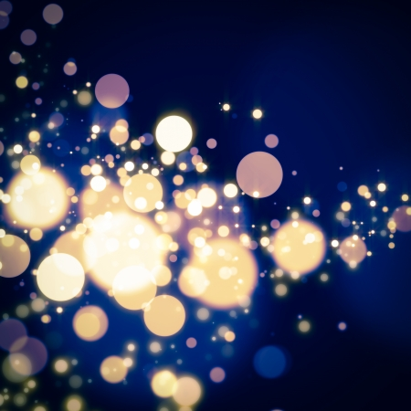 glittering bokeh background