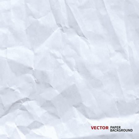verfrommeld papier vector achtergrond