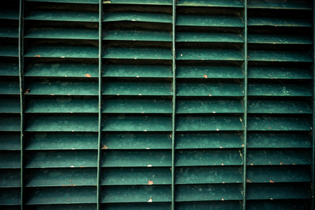 grates: green steel grating texture background