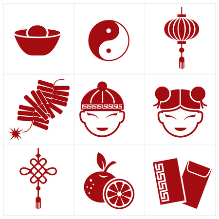 firecrackers: chinese new year icon