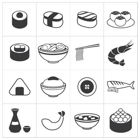 日本料理: アイコン日本食品