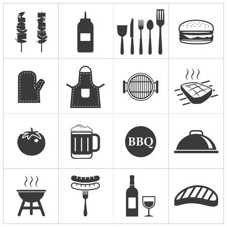 barbeque: barbecue icon Illustration