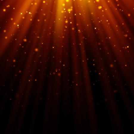 light god: abstract light god and glitter background